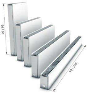 Lavtemperatur radiator muligheder